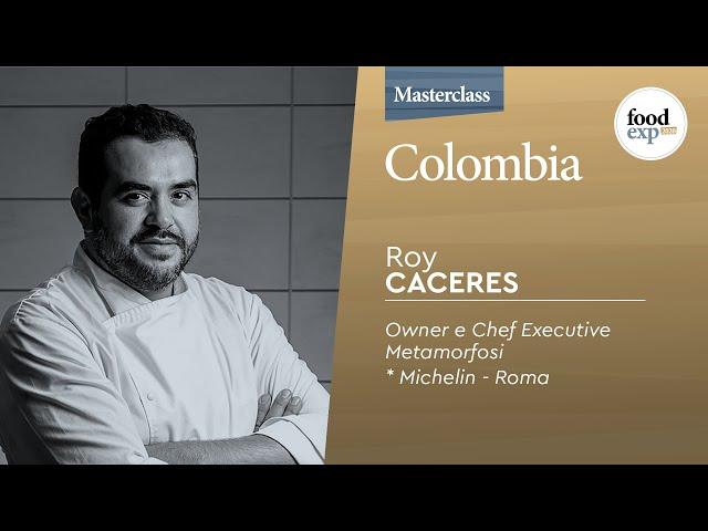 """""""Colombia"""" Metamorfosi * Michelin Roma"""