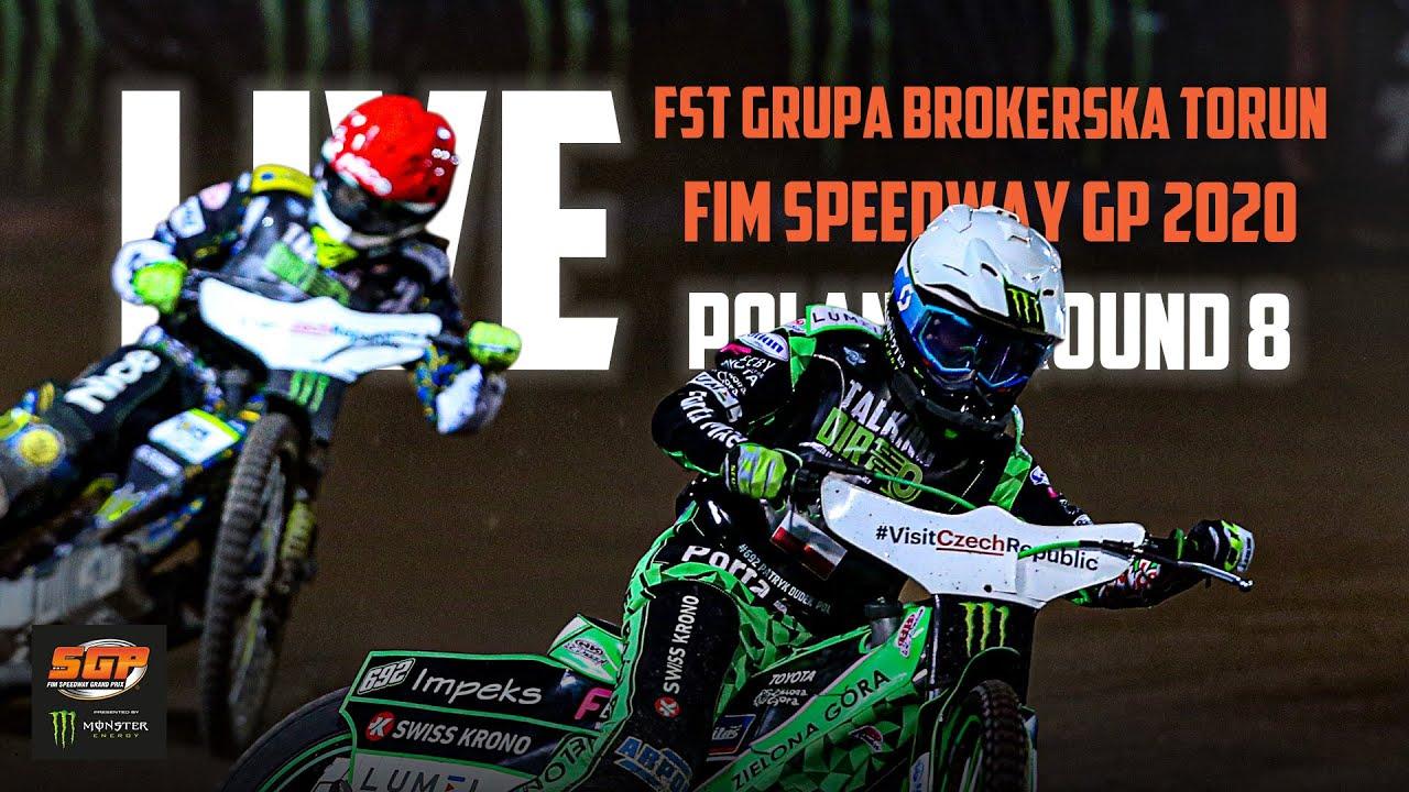 🔴  LIVE FST GRUPA BROKERSKA TORUN FIM Speedway GP 2020 | Poland | Round 8