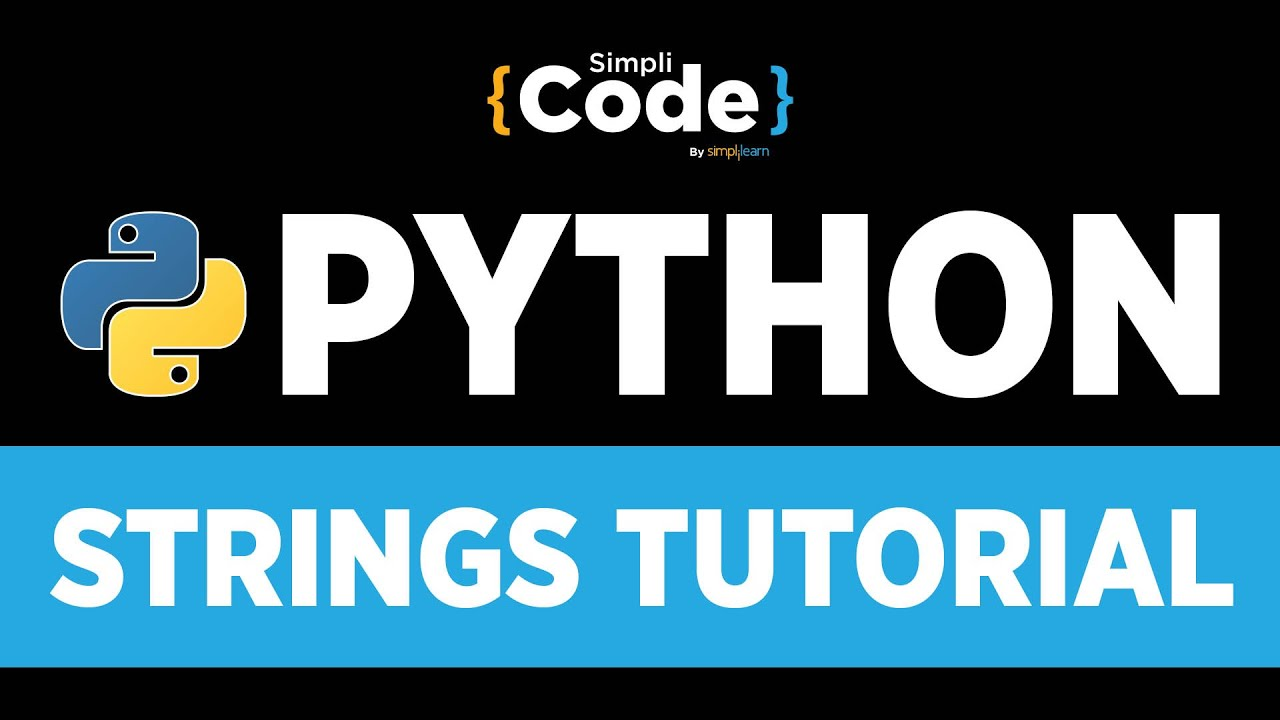 Python Tutorial For Beginners | Python Strings Tutorial | How To Use Strings In Python