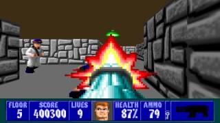 Wolfenstein 3D - Episode 5, Floor 5
