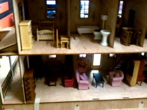 Country Villa by Laser Dolhouse Designs 1 inch Scale