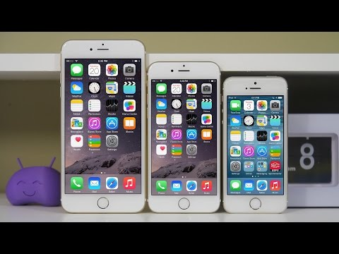 iPhone 6 vs iPhone 6 Plus vs iPhone 5s - Full Comparison