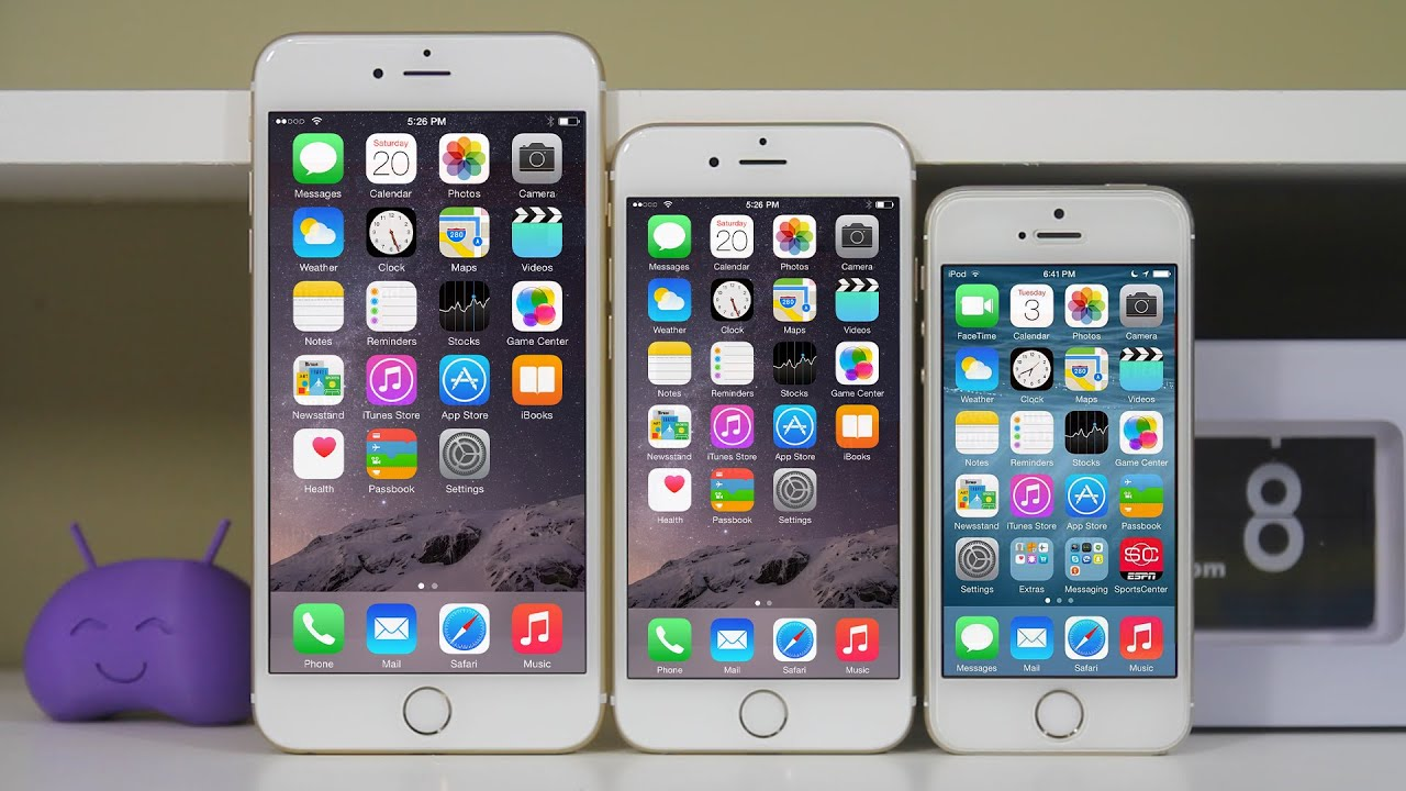 iphone 5s vs iphone 6 iphone 6 vs iphone 6 plus vs iphone 5s comparison 17520