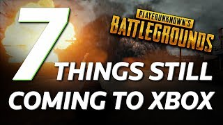 7 Things Still To Come To The Xbox Version Of PlayerUnknown's Battlegrounds