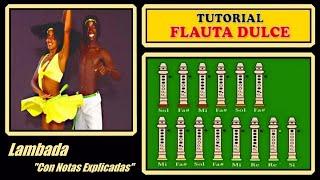 Lambada en Flauta Dulce