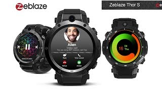 Zeblaze THOR S 3G Smartwatch Review - AliExpress