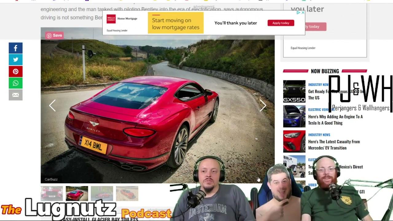 #252 Lugnutz Podcast: CVT of Nightmares Breaking Nürburgring