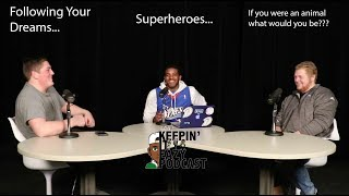 Following your dreams, Superheroes, and what animals we would be? (Keepin' it Eazy Ep 01)
