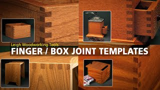 Finger Joint Templates for Leigh Jigs