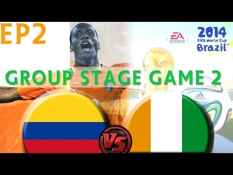 [TTB] 2014 FIFA World Cup Brazil - Colombia Vs Ivory Coast - Group Stage Game 2 - Ep2
