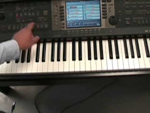 How to Play Major 5finger patterns and chords on piano