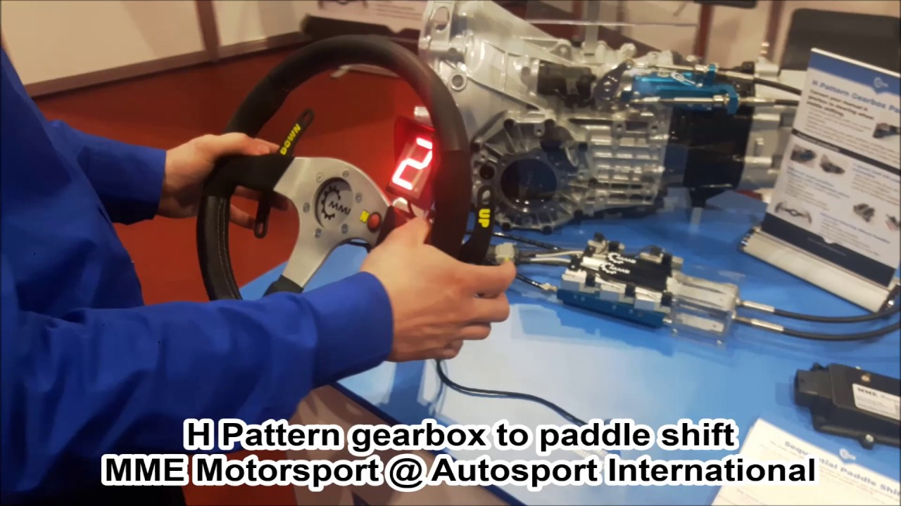 H Pattern Paddle Shift and Sequential Paddle Shift Demonstration