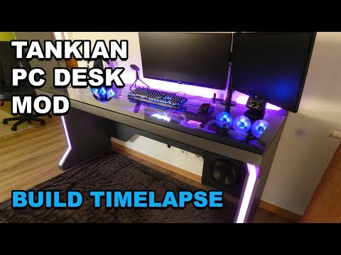 ULTIMATE DESK PC BUILD - TIMELAPSE VIDEO