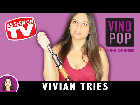 Vino Pop Review   Testing As Seen on TV Products