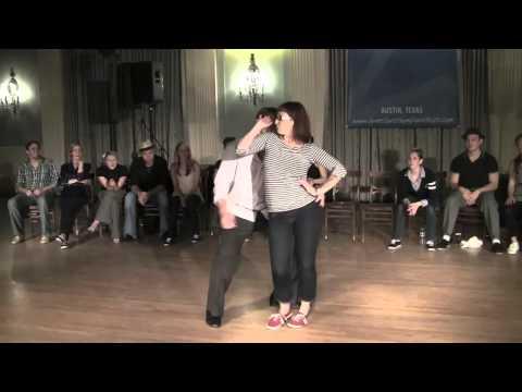 2011 Lone Star Championships - Invitational J&J Finals - Peter & Mia (karaoke)