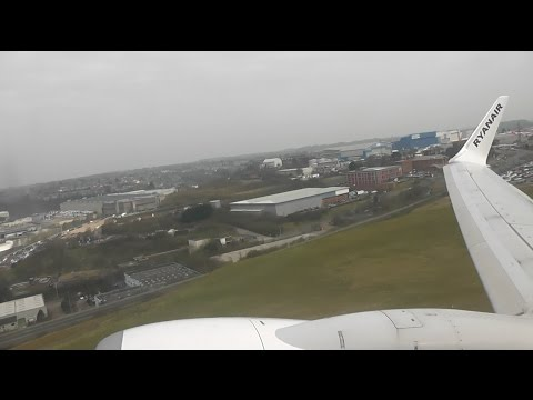 Ryanair Boeing 737-8AS / London Luton to Copenhagen, København (FULL FLIGHT)