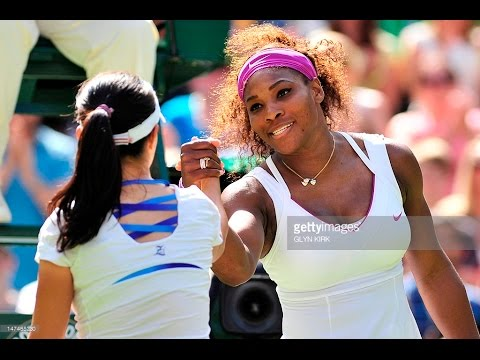 Serena Williams VS Zheng Jie Highlight (WC) 2012 R3
