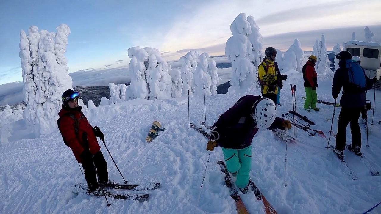 powder skiing canada 2017 youtube