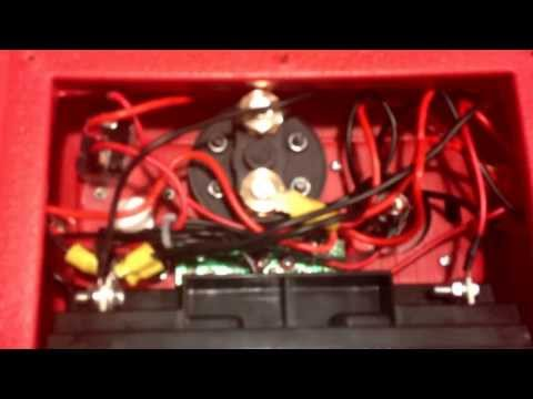 Vid #1 How to change harbor freight 3 in 1 jump starter into a 12v power supply camping or emergency