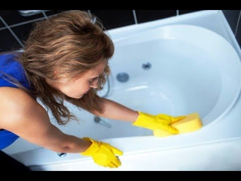 Как удалить плесень в ванной с помощью уксуса