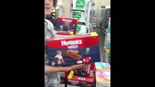 Walmart SpiderMan and Huggies Jeans