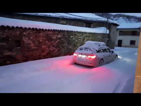 Nieve en Vegacervera