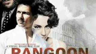 Rangoon movie 2017 official trailer and poster sahid kapoor