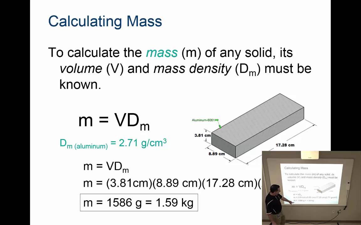 Properties Of Geometric Solids Activity 5 4 Calculating Properties Of Solids Youtube