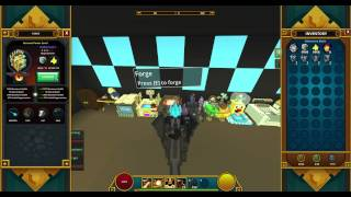 Trove - Forging an Item from Common to Radiant