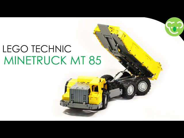 Minetruck MT85 - LEGO Technic MOC powered by Buwizz