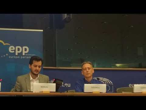 Noordin Mengal Speaks at the European Parliament  on CPEC and HumanRights situation in Balochistan