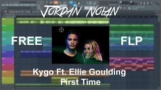 FREE FLP | Kygo, Ellie Goulding - First Time (Acapella, Chords, Drop) FL Studio 12