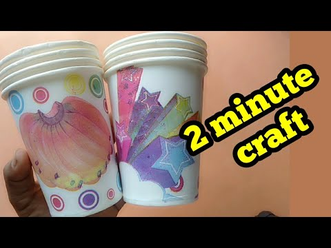 Kids craft / 5 minute easy craft /Diy / Home decorating ideas/ best out of waste/ Tamilponnu Samayal