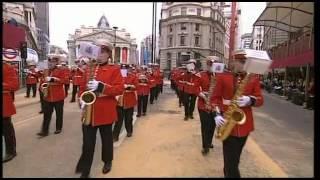 Medina Marching Band   Lord mayors Parade London