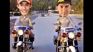 MotoGP di Valencia: Rivediamo la gara di Valentino Rossi, Lorenzo e Marquez vista dai social