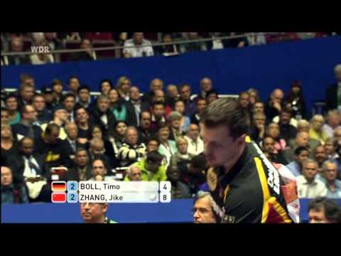 Table Tennis: 2012 World Team Cup. Man. Final. CHINA vs GERMANY