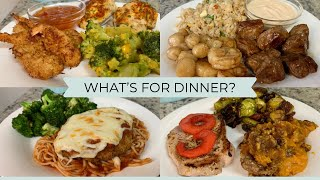 WHAT'S FOR DINNER?   EĄSY & BUDGET FRIENDLY WEEKNIGHT MEALS   DINNER INSPIRATION
