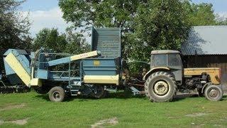 63# Życie zwyczajnego rolnika - Oględziny i smarowanie kombajnu ziemniaczanego Anna Z-644