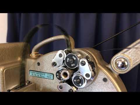 Heurtier 16mm film projector