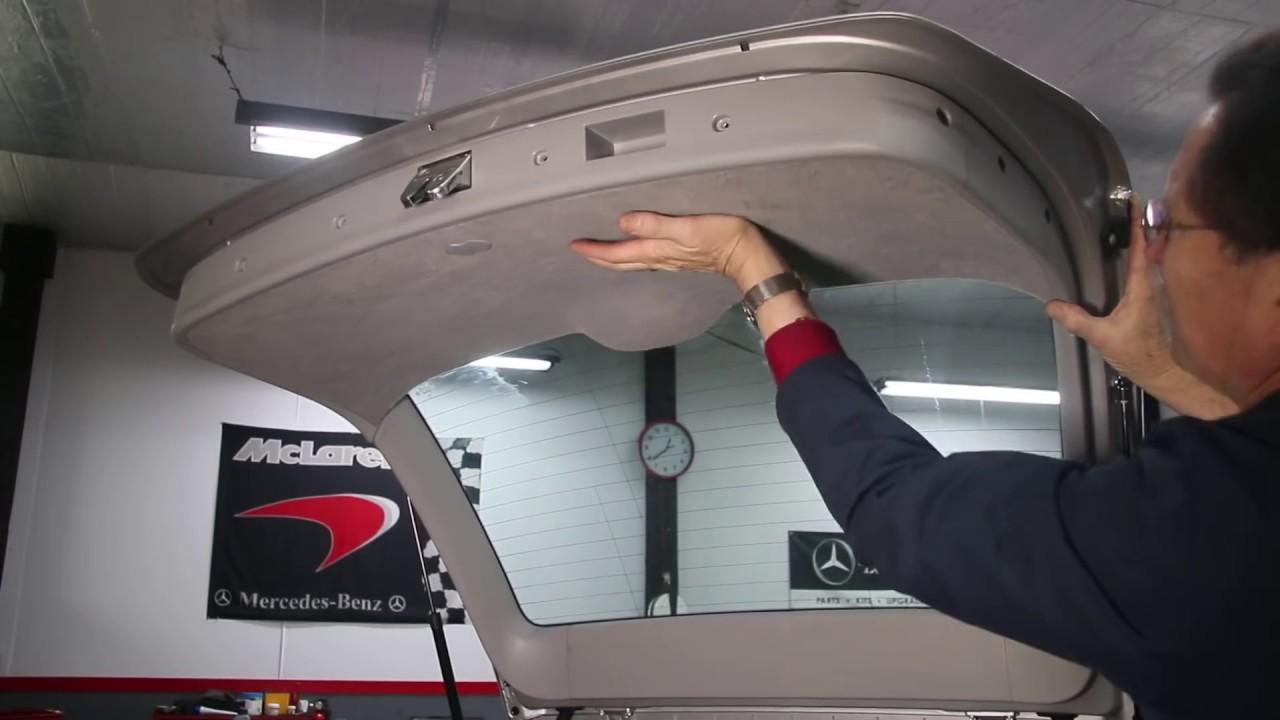Mercedes W203 C Class Tailgate Lock Repair Youtube