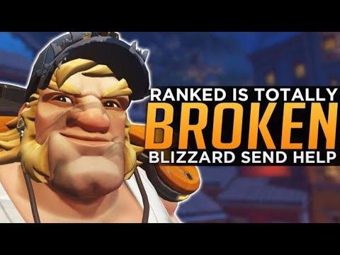 Overwatch Ranked is Still BROKEN - Blizzard Send HELP!