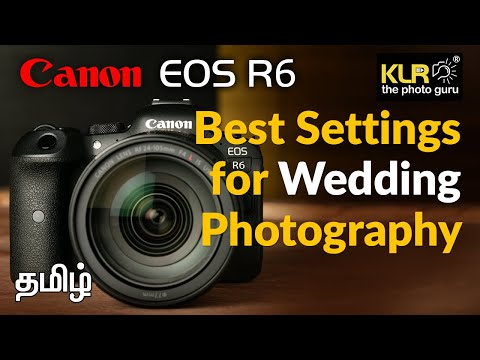 Wedding Photography Settings in Canon EOS R6