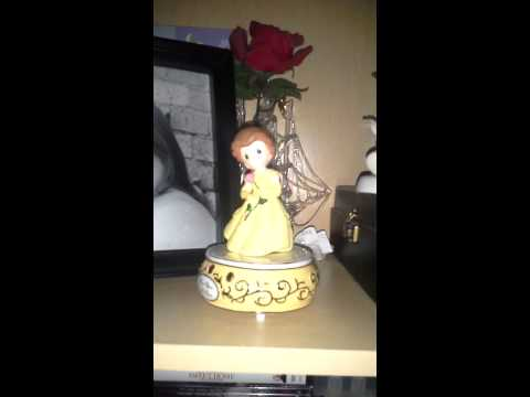 Belle Precious Moments music box