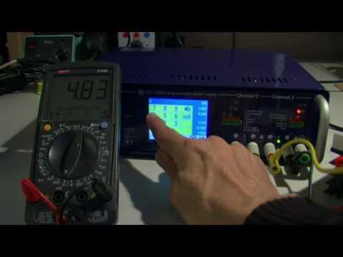 EEZ PSU H24005 calibration