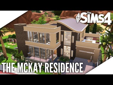 THE SIMS 4 SPEED BUILD #383 - THE MCKAY RESIDENCE
