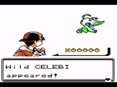 How To Catch Celebi No Hacks Crystal Gold And Silver Youtube