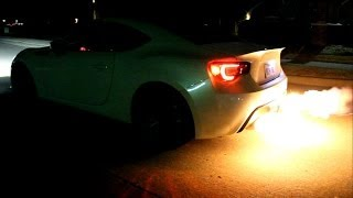 Turbo BRZ /w Full cat-less Top Speed Auto exhaust demo