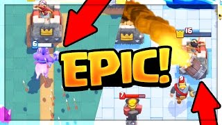 Top 3 EPIC Moment COUNTDOWN in Clash Royale!