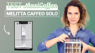 MELITTA CAFFEO SOLO DELUXE STRIPES | Machine à café automatique | Le Test MaxiCoffee