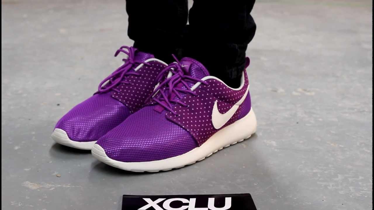 c9959a4e68846 Nike Roshe Run Women Purple extreme-hosting.co.uk